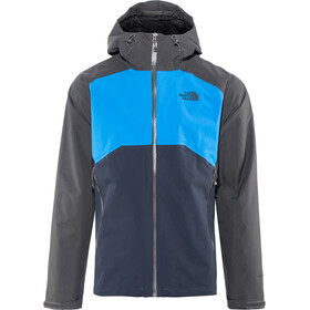 The North Face Stratos Jacket Herr asphalt grey/bomber blue/urban navy